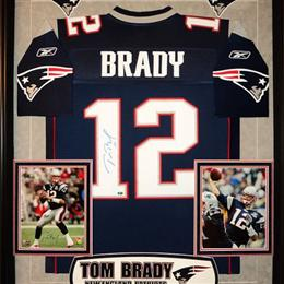 Tom Brady Game used signed Jersey from 2011 Season