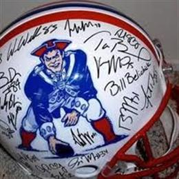 My prize Full Size Helment signed by entire 2010 Team