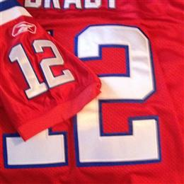Tolm Brady Throwback Jersey from the 2011 Season