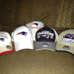 Collection of Champsionship Hats