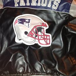 My Patriots Leather Coat