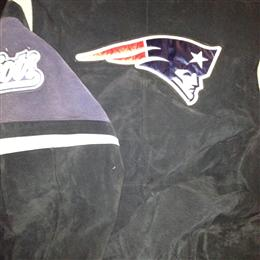 My Patriots Suede coat