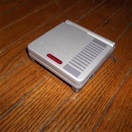 Gameboy Advance SP NES Edition