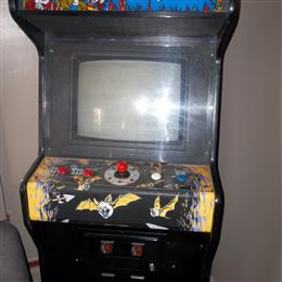Black Tiger Arcade Machine