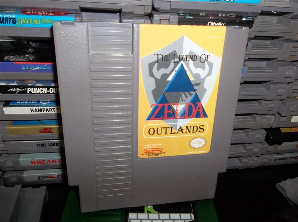 Zelda Outlands - NES