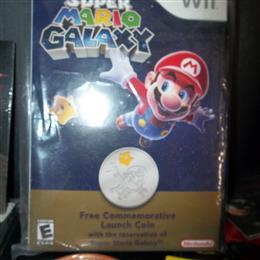 Super Mario Galaxy Commemorative Launch Coin