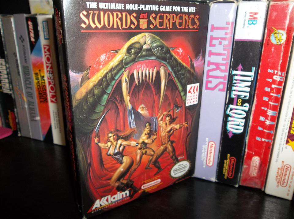 Swords and Serpents - NES