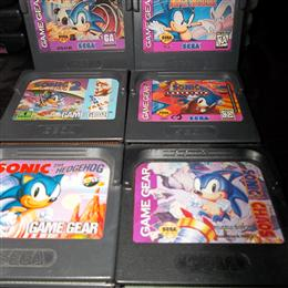 Sonic the Hedgehog Game Gear games