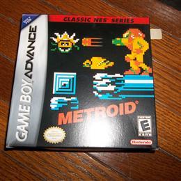 Metroid (Classic NES Series) - GBA