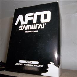 Afro Samurai Pre-Order Bonus Figure