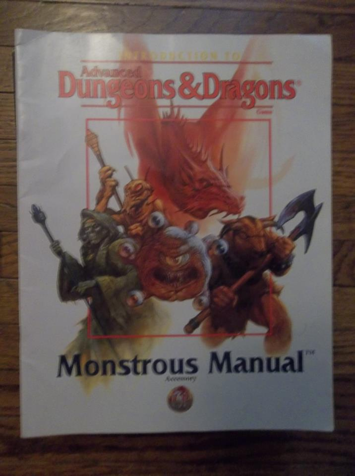Introduction to AD&D Monstrous Manual