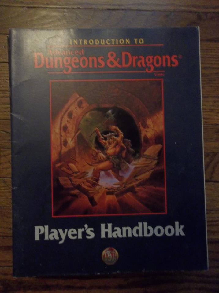 Introduction to AD&D Player's Handbook