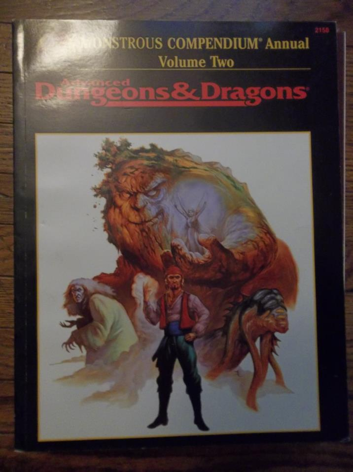 AD&D Monstrous Compendium Annual Volume Two