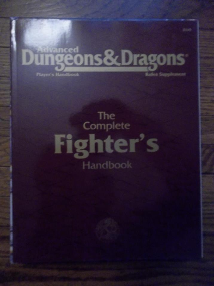 AD&D The Complete Fighter's Handbook