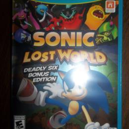 Sonic Lost World (Deadly Six Bonus Edition)