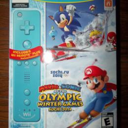 Mario & Sonic at the Loympic Winter Games Sochi 2014