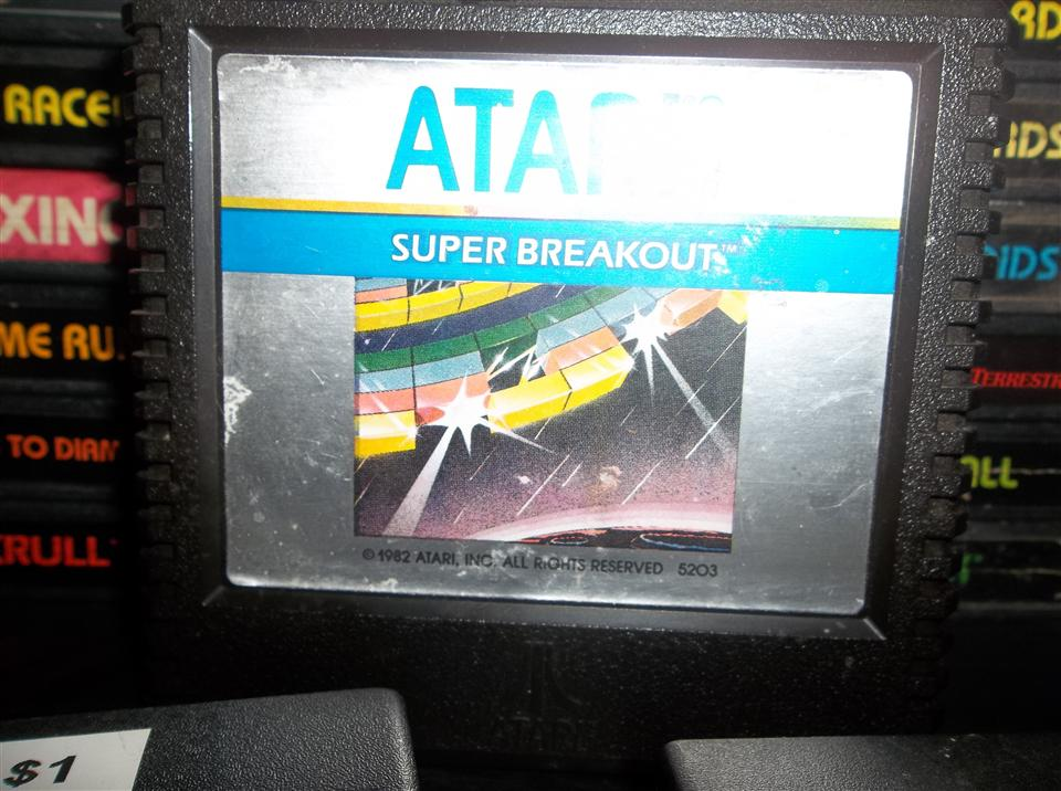 Super Breakout, Atari, 1982