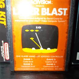 Laser Blast, Activision, 1981
