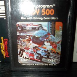 Indy 500, Atari, 1977