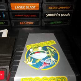 Frogger, Parker Brothers, 1982