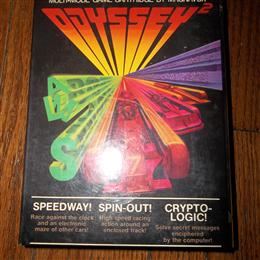 Speedway! / Spin-Out! / Crypto-Logic!, Magnavox, 1978