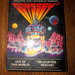 Out of this World! / Helicopter Rescue!, Magnavox, 1979