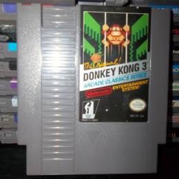 Donkey Kong 3, Nintendo, 1986