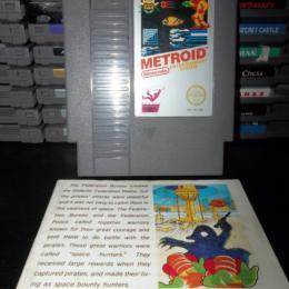 Metroid, Nintendo, 1986