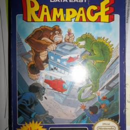 Rampage, Data East, 1988