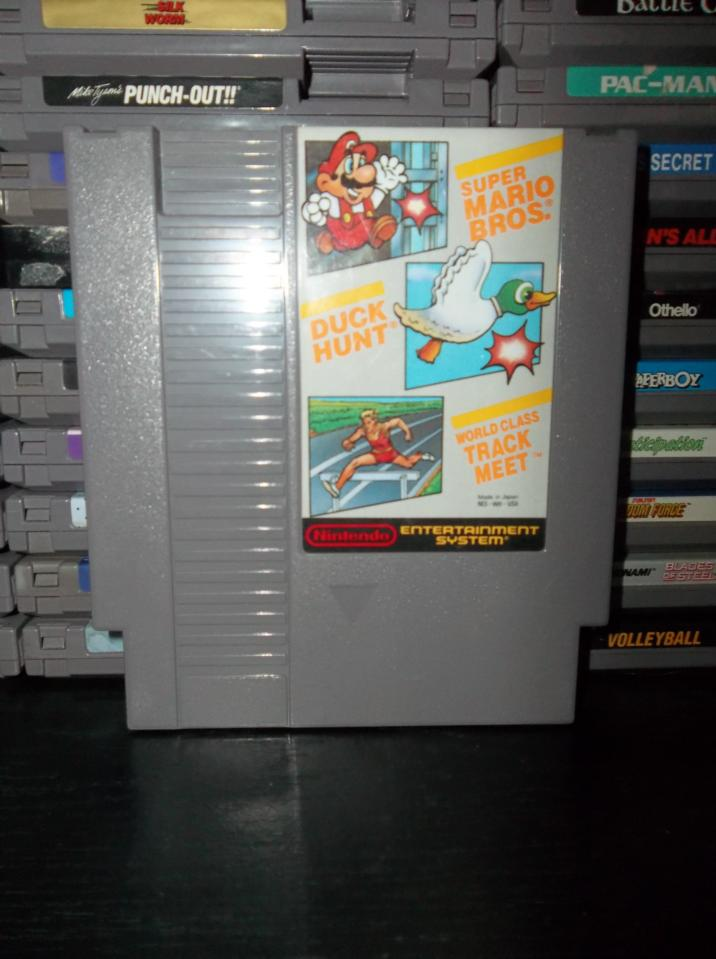 mario duck hunt track meet rare coins