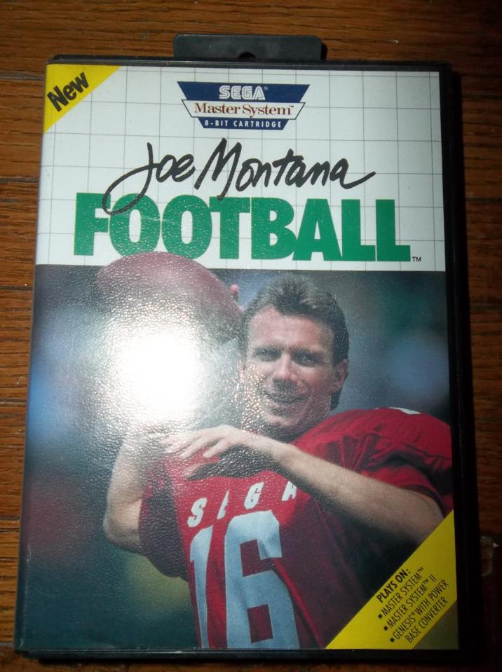 Joe Montana Football, Sega, 1990