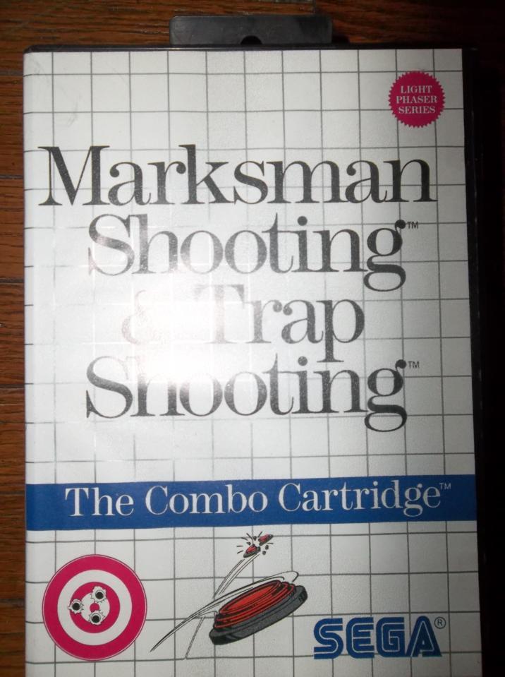Marksman Shooting & Trap Shooting, Sega, 1986
