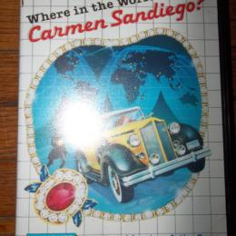 Where in the World is Carmen Sandiego?, Parker Brothers, 1989
