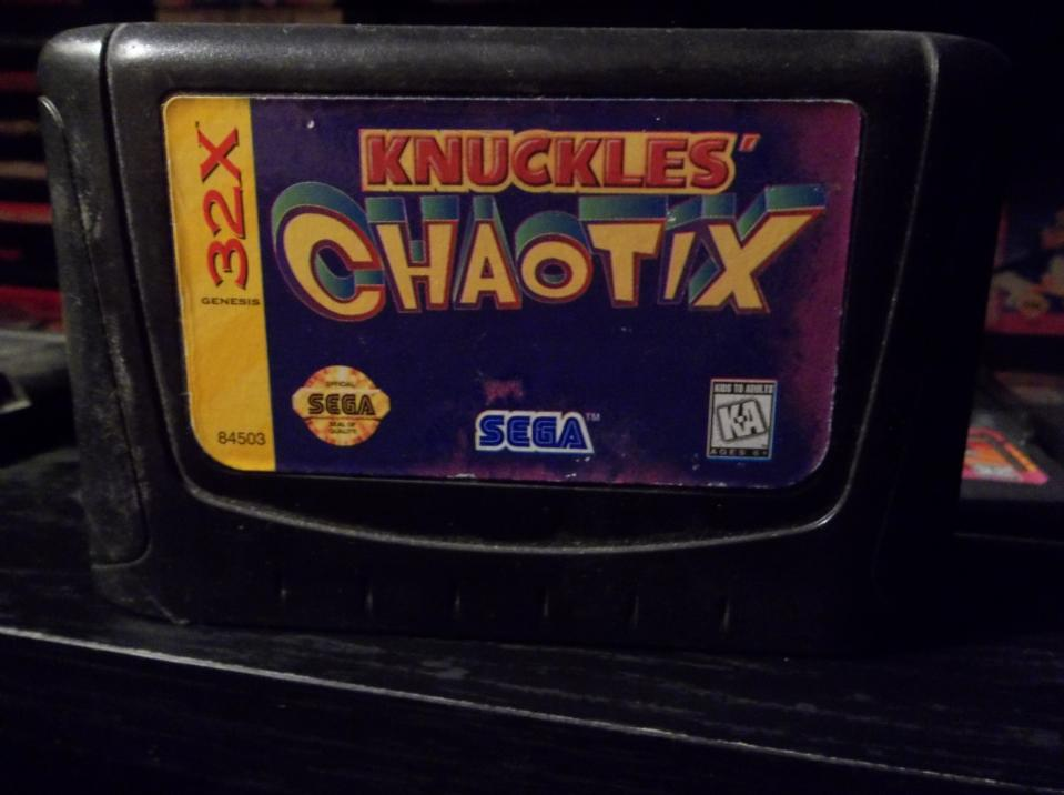 Knuckles Chaotix, Sega, 1995