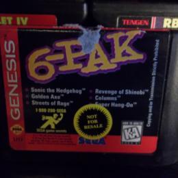 6-Pak, Sega, 1995