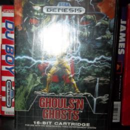 Ghouls'N Ghosts, Sega, 1989