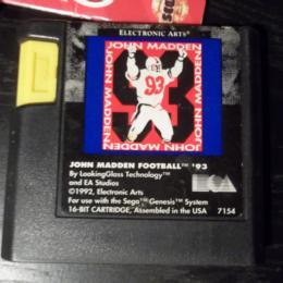 John Madden Football '93, Electronic Arts, 1992