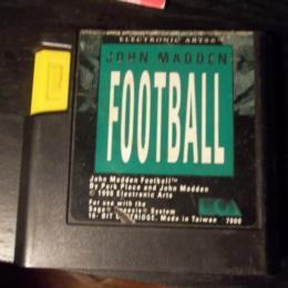 John Madden Football, Electronic Arts, 1990