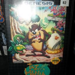 Taz-Mania, Sega, 1992