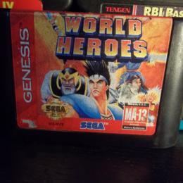 World Heroes, Sega, 1994