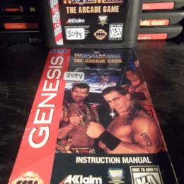 WWF WrestleMania: The Arcade Game, Acclaim, 1995