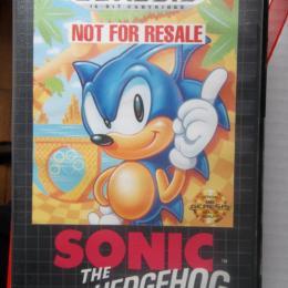 Sonic the Hedgehog, Sega, 1991