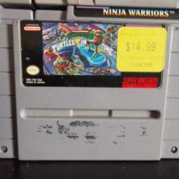 Teenage Mutant Ninja Turtles IV: Turtles in Time, Konami, 1992