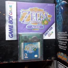 Legend of Zelda, The: Oracle of Ages, Nintendo, 2001