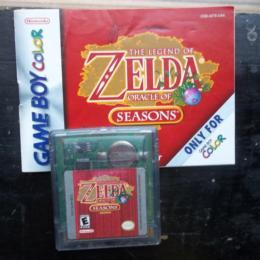 Legend of Zelda, The: Oracle of Seasons, Nintendo, 2001