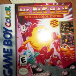 Ms Pac-Man Special Color Edition, Namco, 1999