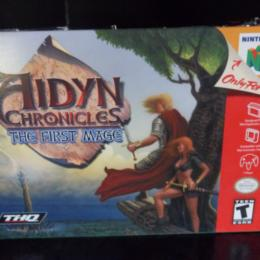 Aidyn Chronicles: The First Mage, THQ, 2001