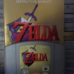Legend of Zelda: Ocarina of Time, Nintendo, 1998