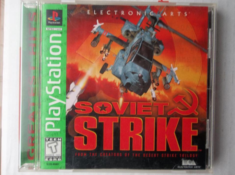 Soviet Strike (Greatest Hits), Electronic Arts, 1998