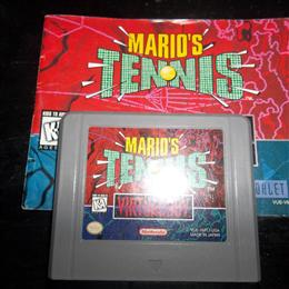 Mario Tennis, Nintendo, 1995